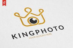 King Photo Logo by ft.studio on @creativemarket