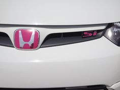 Pink Honda Accord Emblem Honda Love *would Love A Pink My Honda - - jpeg 1999 Honda Civic, Honda Civic Sedan, Civic Jdm, Honda Accord, Honda Rsx, Slammed Cars, Honda Ridgeline, Car Goals, Cute Cars