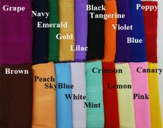 Solid Color Georgette Hijab - hi1965 - AlHannah Islamic Clothing