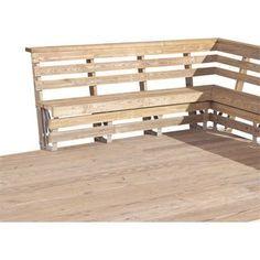 Wood Deck Railing, Deck Railing Design, Pergola Designs, Deck Design, Deck With Pergola, Wooden Pergola, Wooden Decks, Pergola Plans, Pergola Ideas