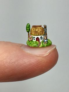 Peter Rabbit Teeny Cottage by Holly Allen