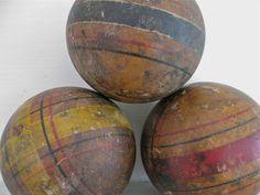 Old Criquet Balls