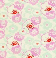 Heather Bailey Nicey Jane Ticking Fabric in Pink