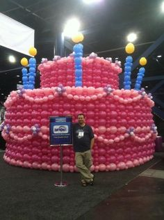 globo de la decoracin Giant cumpleaos del globo Cake1936 x 2592