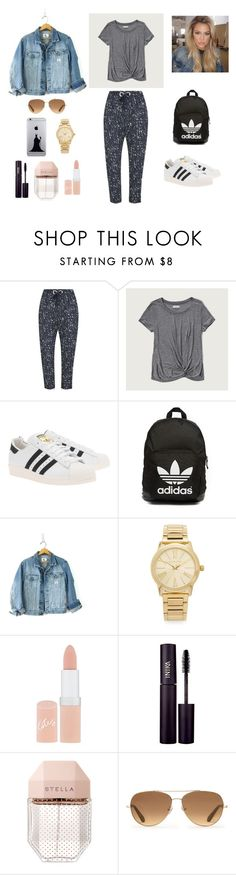 """""""evil queen"""" by teszter0528 on Polyvore featuring The Fifth Label, Abercrombie & Fitch, adidas Originals, Calvin Klein, Michael Kors, Rimmel, INIKA, STELLA McCARTNEY and Stella & Dot"""