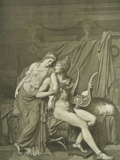 The Iliad of Homer - Helen & Paris (Frontispiece)