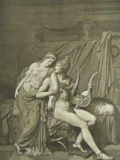 The Iliad of Homer - Helen & Paris (Frontispiece)