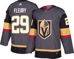 adidas Men s Vegas Golden Knights Marc-Andre Fleury  29 Authentic Pro Home  Jersey 67ea8f2c0