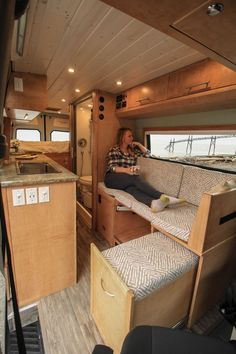Fitz Roy Sprinter 170 Conversion Fitz Roy Sprinter 170 Conversion Torsten Heidel heideltorsten Truck Camper VanLife Check out more photos of this build on nbsp hellip Conversion Van, Van Conversion Interior, Sprinter Van Conversion, Van Interior, Van Conversion On A Budget, Camper Van Conversions, Van Conversion Kitchen, Van Conversion Project, Motorhome Interior