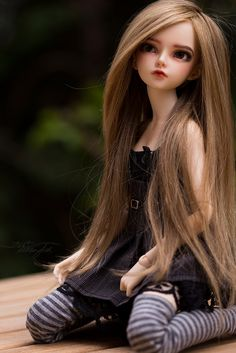 Marlee (MNF Mirwen) with human hair wig