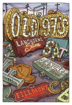 GigPosters.com - Old 97s