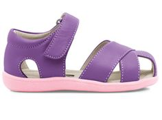 454d5437ad4e See Kai Run  Shauna Sandal Toddler Little Kid (Purple) Toddler Shoes