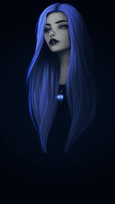 Cute Girl Drawing, Cartoon Girl Drawing, Girl Cartoon, Cartoon Art, Cool Anime Girl, Anime Art Girl, Dibujos Tumblr A Color, Gothic Fantasy Art, Cyberpunk Girl