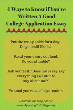 Literary Research Essay  Ways To Know If Youve Written A Good College Application Essay Short Stories In Essays also Essay About Writing Process Essay Essayuniversity How To Write Your College Essay Paragraph On  God Does Not Exist Essay