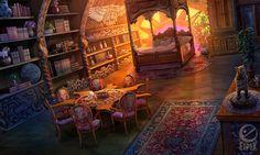 bedroom by celedka on DeviantArt