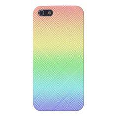 Rainbow Gradient Textured iPhone 5 Case-$35.95