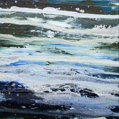 "Saatchi Online Artist: Ana Paula Portilla;  Paris, France ""Lost at sea"" Oil 2012 Painting ""Perdue en Mère (5)"""