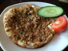 Turkish Pizza, yummy