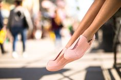 Lutreet | Exclusive Designer Sneakers shoes women sneakers fashion outfit peach pink fauxfur summer boulevard edition venice beach young style blogger salmon