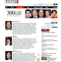 Dato Sri Vijay Eswaran on Malaysian Tatler's annual 300 list! http://my.asiatatler.com/300list