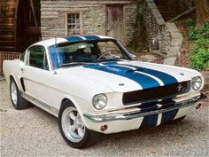 1966 Ford Mustang. If I don't repin this runner-up to a Chevy, I'll never hear the end of it. The depths to which we sink for our friends! LOL
