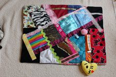 Hey, I found this really awesome Etsy listing at https://www.etsy.com/listing/493621742/sensory-stimulation-quilt-fidget-quilt