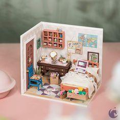Dollhouse Kits, Dollhouse Miniatures, Wooden Dollhouse, Best Educational Toys, Diy Casa, Model Building Kits, Decorative Tape, Lace Decor, Thing 1