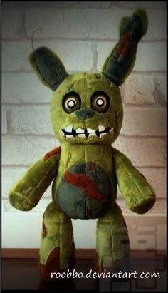 of Five Nights At Freddy's - Springtrap - Plush - Thumbnail 1