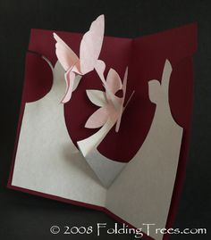 hummingbird pop-up card made by planetjune