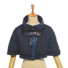 Victorian Steampunk Mini Cape /Short Cloak/Capelet – Go Steampunk Vintage Costumes, Vintage Outfits, Vintage Fashion, Capes For Women, Victorian Steampunk, Cape Coat, Capelet, Cloak, Cosplay Costumes