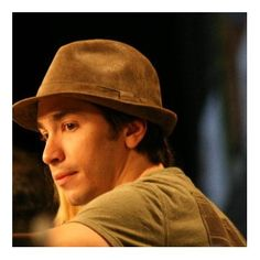 Justin Long at event of Drag Me to Hell, love the hat!