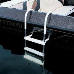 101 Best Pontoon Ladders Images Pontoon Boat Boat Ladder