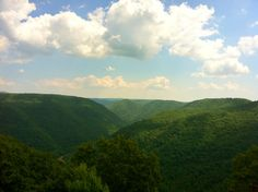 Grandview, part of the New River Gorge National River