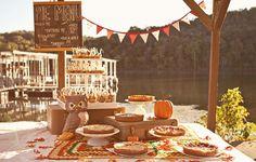 cute dessert table