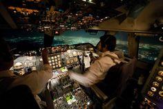 B747-200 Cockpit SAA