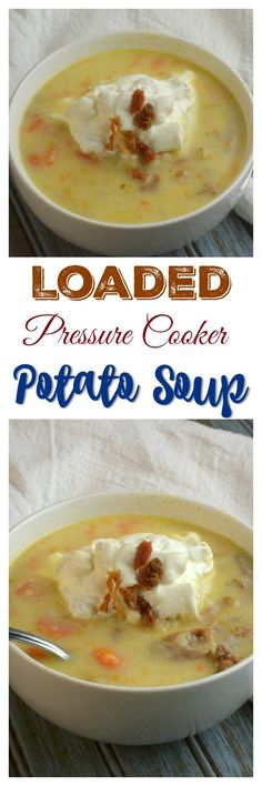 Share with friends1 2  1  4SharesLoaded Instant Pot Potato Soup I keep meaning to share with everyone my Potato Soup Recipe. I finally have it written down and it is to perfection. I have tried my potato soup many ways trying to come up with the perfect potatoe soup. Some use cream soups in the recipe which I …