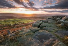 Last light over Stanage by Rob Harris on 500px