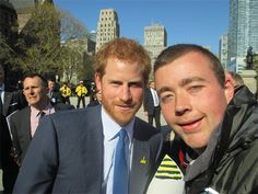 Prince Harry tells autistic royal fan to 'keep making people smile'