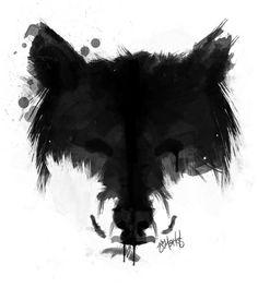 Ink Wolf T-Shirt