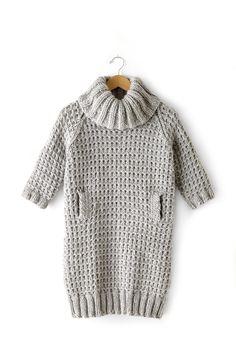 Slouchy Sweater Dress