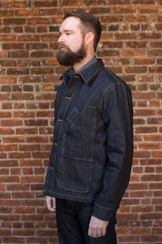 Tellason - Coverall Jacket 16.5 oz. Selvedge Denim | Tellason, $230.00…