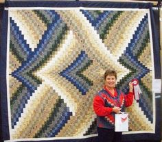 Free Bargello Heart Quilt Pattern | 2009 Rosettes ~ Photo Gallery ~ Canadian Quilters' Association ...