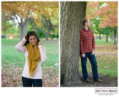 Lincoln Park Engagement Chicago // Brittany Bekas Photography // Chicago + destination wedding photographer
