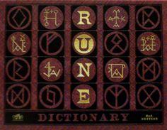 Rune dictionary.