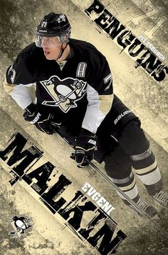 Pittsburgh Penguins - E Malkin 13 Poster Print x Pittsburgh Penguins Wallpaper, Pittsburgh Sports, Pittsburgh Penguins Hockey, Ted Lindsay, Evgeni Malkin, Hockey Boards, Lets Go Pens, Winter Olympic Games