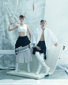 """Floor Action"" Vogue Korea 2014"
