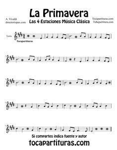 partituras faciles para violin - Buscar con Google
