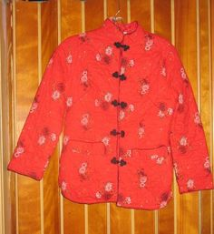 1950s Quilted Cotton Chinese Jacket