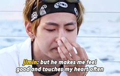 Tae crying for the letter he wrote for jimin!!those love each other so much|| JUST BTS VMIN
