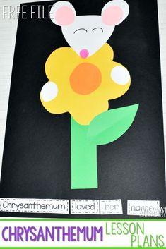 Chrysanthemum Lesson Plans for Kindergarten! This back to school book is great f… - Handprint Kindergarten Beginning Of Kindergarten, Beginning Of The School Year, Chrysanthemum Book, Chrysanthemum Activities, Back To School Crafts, Back To School Activities, Book Activities, School Stuff